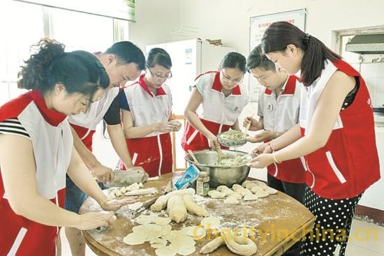 Love dumplings into the nursing home -aixinshuijiao