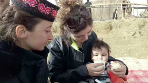 Support the mothers in earthquake stricken areas of Taxkorgan County of Xinjiang -xinjiang-tashikuer-earth-6-1